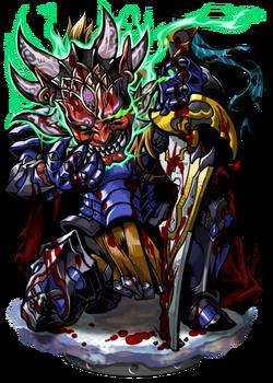 Gregory, the Masked Slayer Figure