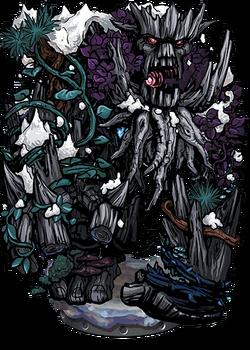 Ancient Tree Golem Figure