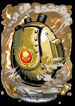 Brass Egg Figure
