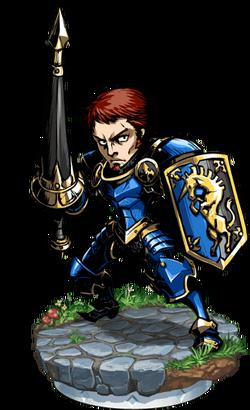 Heavy Lancer + Figure