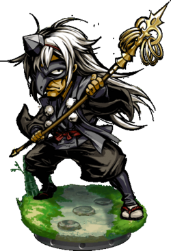 Raven Tengu Figure