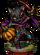 Black Cat Knight Figure