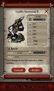 Gorilla Huntsman II (evolved from 2 level 1 Gorilla Huntsmen)