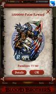 Montu, the Weapon Master Point Reward