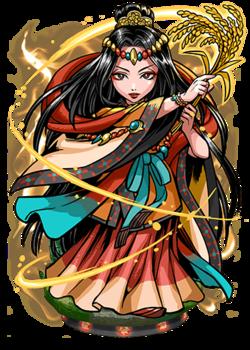 Kushinada, Shamaness Figure