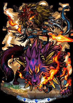 Melanippe, Wolfrider II Figure