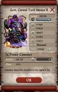 Pope Gevi cristal troll master