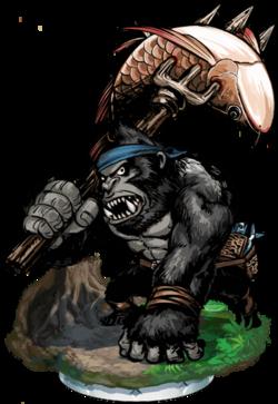 Gorilla Angler Figure