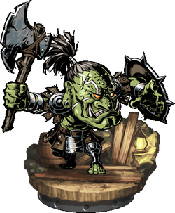 Orcish Warrior Figure