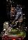 Zombie Soldier II Figure