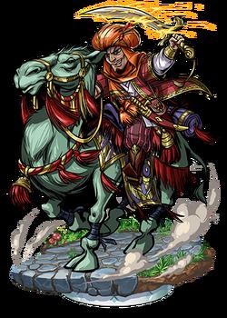 Pagos, Camel Cavalryman II Figure