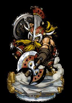 Dwarven Axeman II Figure