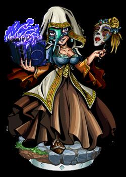 Ragnelle, Masked Mage Figure