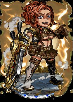 Ashlee Steamsaw Figure