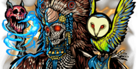 Familiars origins/American Mythology
