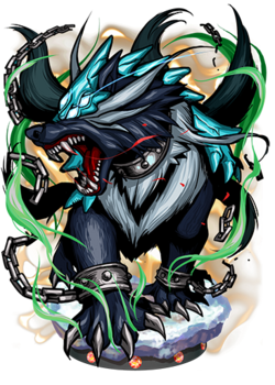 Garmr, Watchhound Figure