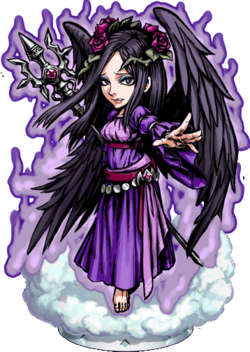 Black Archangel Figure
