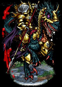 Lanvall, Lizard Cavalier II Figure