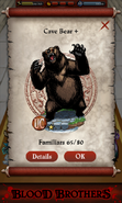 Cave Bear Capture Screen