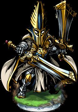 Elven High Guardian Figure