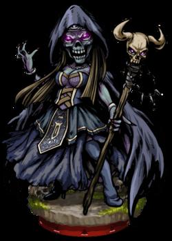 Alcina, Lich Witch Figure