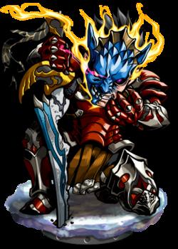 Gregory, the Masked Warrior II Figure