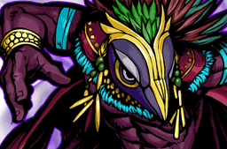 File:Vucub Caquix, the Dark Wing Face.png