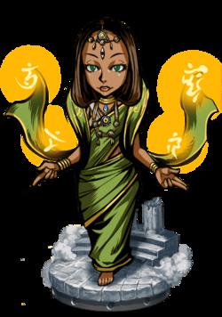Sita, War Maiden Figure