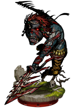 Zombie Berserker II Figure