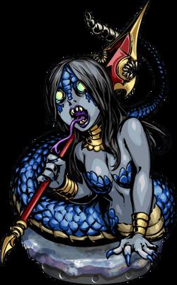 Lamia Spearguard Figure