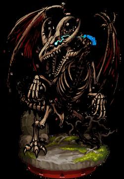 Bone Wyvern II Figure
