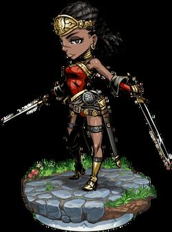 Sword Maiden Figure