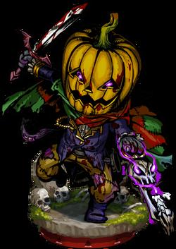 Pumpkin Knight II Figure