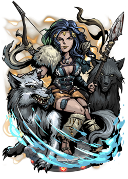 Skadi, Goddess of Winter Figure
