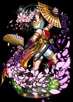 Oka, Kunoichi II Figure
