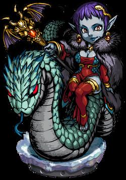 Yulia, Snakesage Figure
