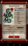 Armored Unicorn Max