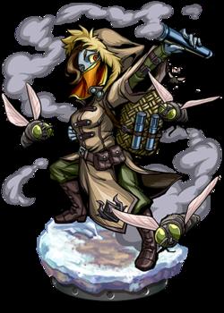 Nicola, Master of Flies Figure
