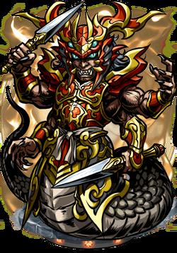 Takshaka, Serpent King Figure