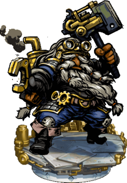 Dwarven Engineer II Figure