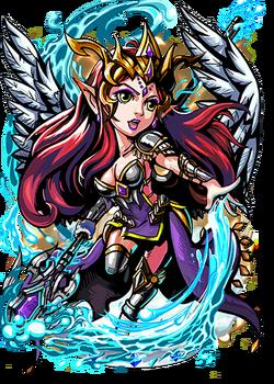 Zaphkiel, the Blessed Rain Figure