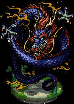 Blue Dragon II Figure