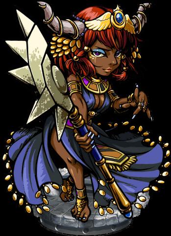 File:Hathor, Harvest Goddess II Figure.png