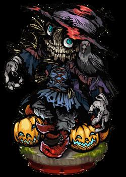 Prowling Scarecrow II Figure