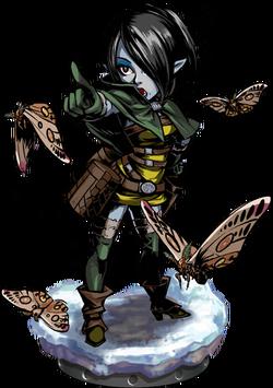 Moth Tamer Figure