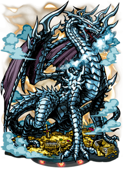 Silver Dragon II Figure