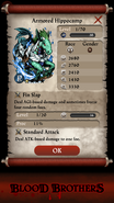 Armored Hippocamp Base Stats