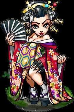 Sayuri, Geisha Figure