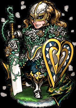 Sir Bedwyr of the Garden Figure