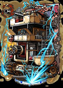 Ferocious Siege Tower Figure
